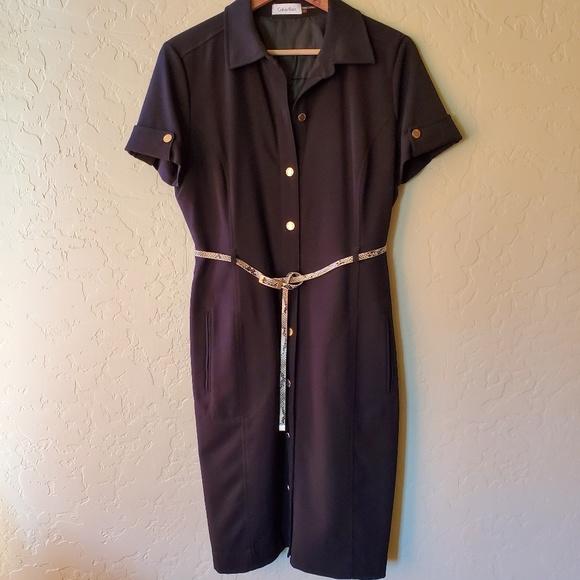 Calvin Klein Dresses & Skirts - Calvin Klein Button Down Dress